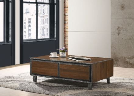 Bretton Coffee Table with Drawers